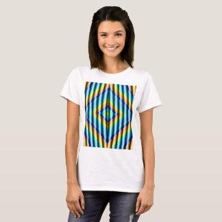 Mulheres do t-shirt do Fractal Camiseta