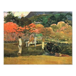 Mulheres e molde por Paul Gauguin (a melhor Convites Personalizados