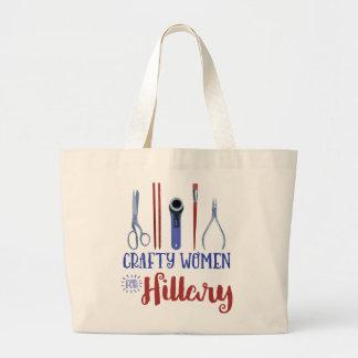 Mulheres espertos para o bolsa de Hillary