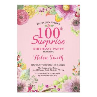 Mulheres florais do convite do aniversário da