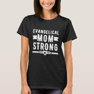 Mulheres fortes da mamã evangélica gráficas camiseta