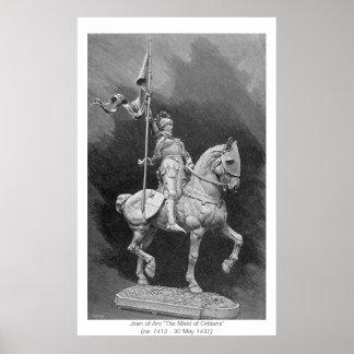 Mulheres históricas - Joana do arco Pôster