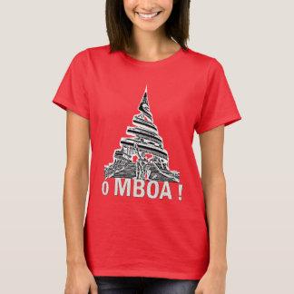 Mulheres Ó MBÓA! - T-shirt República dos Camarões Camiseta