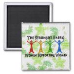 Mulheres que apoiam mulheres imãs