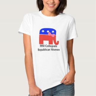 Mulheres republicanas escolares tshirt