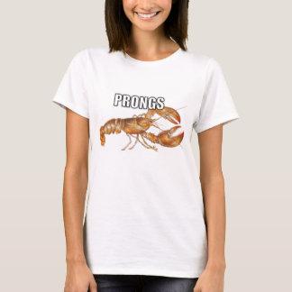 Mulheres simples da camisa dos dentes camiseta