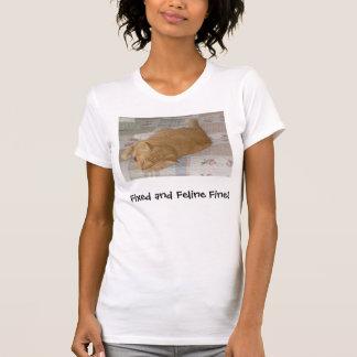 Multa de P8200001_edited, fixada e felino! T-shirt