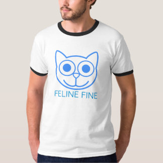 Multa felino camisetas