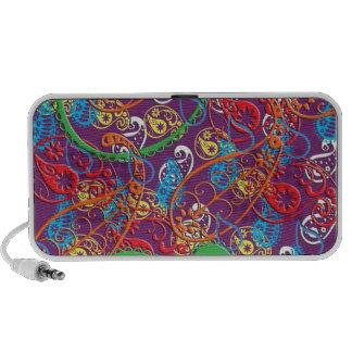 Multi capas de telefone e cobrir coloridos selvage caixinha de som