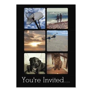 Multi colagem feita sob encomenda da imagem do convites
