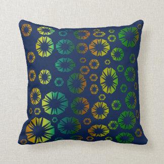 Multi cor do travesseiro almofada