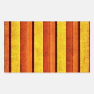 Multi etiqueta listrada afligida colorida do retân adesivos em formato retangulares