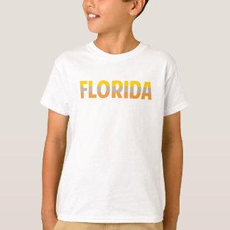 Multi Florida colorido Camiseta