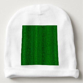 Multi fundo da cor verde gorro para bebê