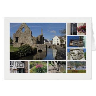 Multi-imagem de Christchurch Cartão Comemorativo
