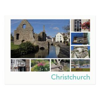 Multi-imagem de Christchurch Cartão Postal
