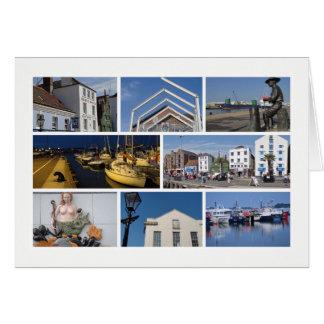 Multi-imagem de Poole Cartão Comemorativo