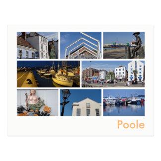 Multi-imagem de Poole Cartão Postal
