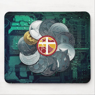 Multi moeda Mousepad de BiblePay BBP