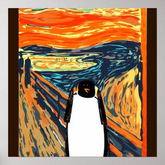 Munch o poster do pinguim