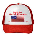 Mundo Campeão dos EUA, 1918, 1945 Bones