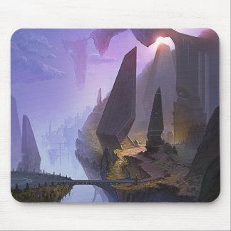 Mundo de fantasia mousepad