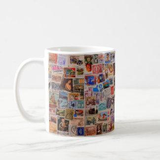 Mundo dos selos -- Caneca de café