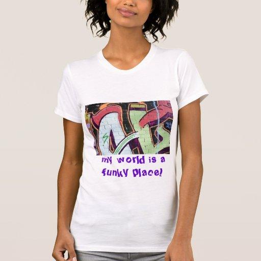 mundo funky t-shirts