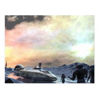 mundo gêmeo do sol cartão postal