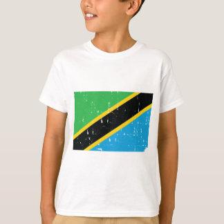 Mundo vestido camisa do olhar da bandeira T de