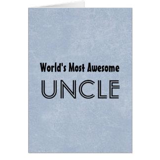 Mundos a maioria de tio impressionante Azul Grunge Cartoes