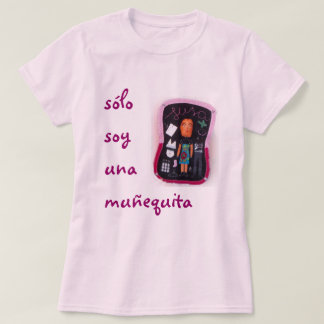 muñequita de solo do una da soja camiseta