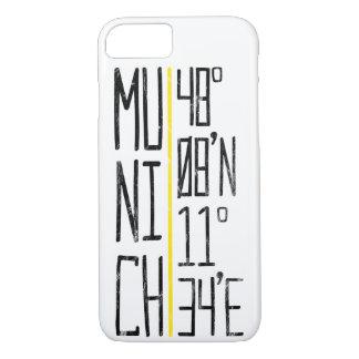 Munich coordena a capa de telefone móvel