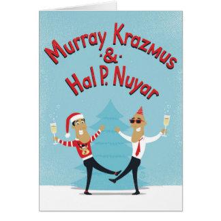 Murray Krazmus & cartão de Natal de Hal P. Nuyar