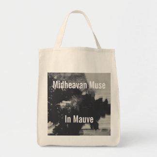Musa de Midheavan no malva Sacola Tote De Mercado