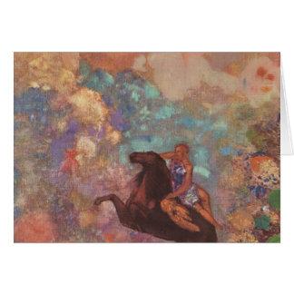 Musa em Pegasus Cartão