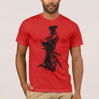 musashi do tshirt da camisa do ninja do samurai