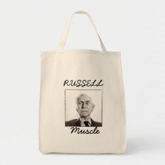 Músculo de Russel Sacola Tote De Mercado