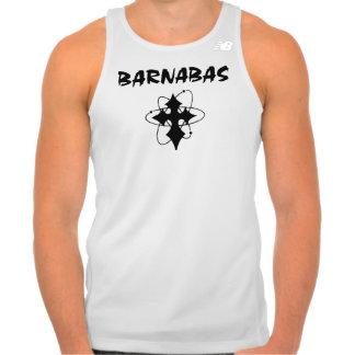 Músculo T de Barnabas - cruz atômica T-shirts