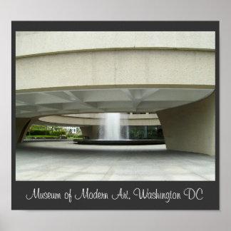 Museu de arte moderna, Washington DC Pôster