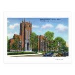 Museu de Yale U Peabody da história natural Cartão Postal