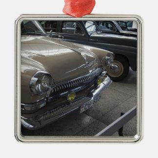 Museu do motor de Latvia, Riga, Riga, os anos 60 Ornamento Quadrado Cor Prata
