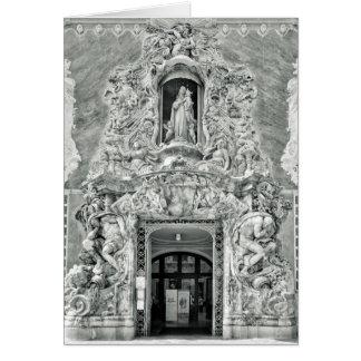 Museu Gonzalez Marti em Valência Cartão Comemorativo