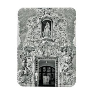 Museu Gonzalez Marti em Valência Foto Com Ímã Retangular
