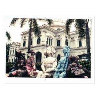 Museu Nacional de Singapore Cartão Postal