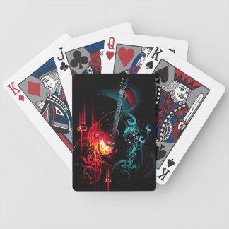 Música 13 cartões de jogo baralhos de cartas