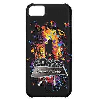 Música 2 caixas do speck capa para iPhone 5C