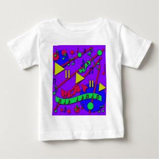 Música 2 camiseta para bebê