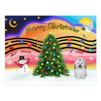Música 2 do Natal - algodão de Tuledar (arco) Cartão Postal