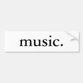 Música Adesivo